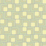 Rounded rectangle seamless pattern Stock Photos