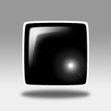 Rounded square illustration Stock Photos