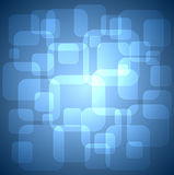Rounded squares background. Stock Photo