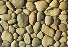 Rounded Stone Texture Stock Image