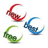 Rounded symbols - new, best, free Stock Photos