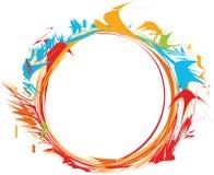 Rounded Twisting Frame Stock Image