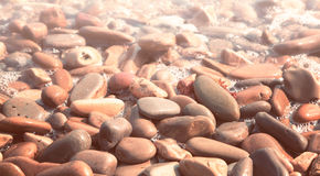 Rounded water stones Stock Photo