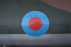 Roundel. Air force roundel on an aircraft Stock Photo