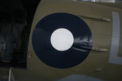 Roundel. Air force roundel on an aircraft Stock Photos