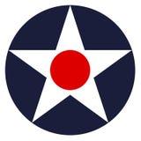 Roundel för USA landstappning royaltyfri bild