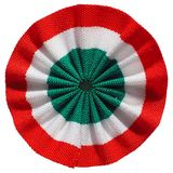 Roundel of Italy. The Italian roundel cockade flag of Italy Stock Image
