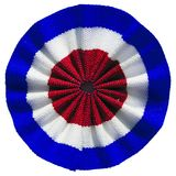 Roundel of UK. The British roundel cockade flag of United Kingdom Stock Photos