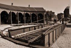 roundhouse Immagini Stock