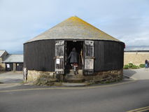 Roundhouse and Capstan Gallery Stock Image
