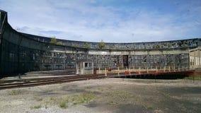 Roundhouse occidentale della ferrovia del pennsylvaniano Fotografia Stock Libera da Diritti