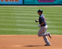 Rounding the Bases Royalty Free Stock Photos