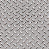 Roundish diamond pattern. Seamless roundish metal diamond pattern background royalty free stock photography