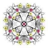 RoundPattern-05 royalty free illustration