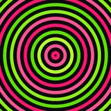 Rounds background. Green and pink rounds on black background Stock Image