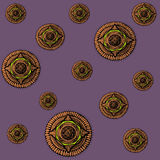 Mandala Temple Pattern Royalty Free Stock Image