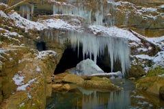 Roundstone洞的水槽 免版税库存图片