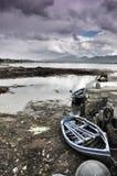 Roundstone-Hafen, Grafschaft Galway Stockbilder