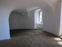 Roundtower à Copenhague, Danemark Photographie stock