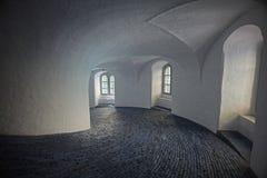 Roundtower в Копенгагене, Дании Стоковые Фото