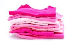 Roupa cor-de-rosa Imagem de Stock