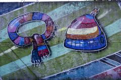 Roupa da arte da rua imagem de stock royalty free