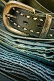 Roupa da sarja de Nimes do vintage fotos de stock royalty free