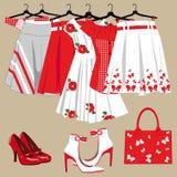 A roupa das mulheres Fotos de Stock Royalty Free