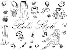 Roupa das mulheres da forma Fotos de Stock Royalty Free