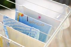 Roupa de secagem Imagem de Stock