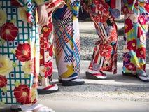 Roupa de senhora da cultura da tradição do vestido do japonês do quimono imagem de stock royalty free