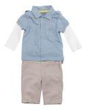 Roupa do bebé fotos de stock royalty free