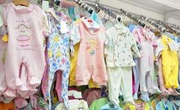 Roupa do bebê Fotos de Stock Royalty Free