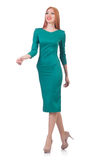 Roupa elegante vestindo modelo Foto de Stock Royalty Free