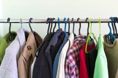 roupa em trempels Fotografia de Stock