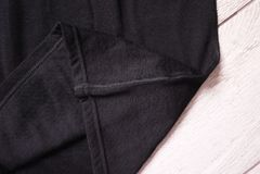 Roupa interior térmico dos esportes Detalhes, material, close-up fotografia de stock
