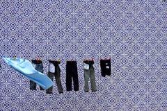 Roupa seca Fotos de Stock