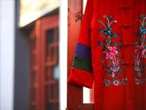 Roupa tradicional chinesa Foto de Stock