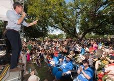 ` Rourke Democratico Texas Campaigns di Beto O per il senato fotografia stock libera da diritti