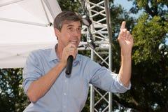 Rourke för Beto nolla-` demokrat Texas Campaigns för senat royaltyfri fotografi