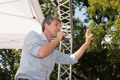 Rourke för Beto nolla-` demokrat Texas Campaigns för senat arkivfoton