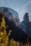 Rousanou-Kloster Meteora Lizenzfreies Stockbild