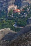 Rousanou Monastery in Meteora Royalty Free Stock Image