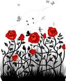 Rouses do vermelho Ilustração Royalty Free