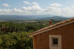 Rousillon和它的乡下,法国 免版税库存图片