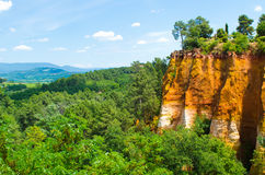 Rousillon Royalty Free Stock Photography