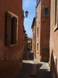 Rousillon, france. Town of Rousillon in south east france Royalty Free Stock Photos