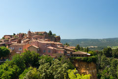 Rousillon in France Stock Photos
