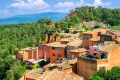 Rousillon, Provence, Frankreich stockfotografie