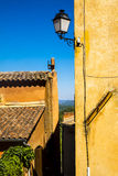 Rousillon, Vaucluse Προβηγκία Στοκ φωτογραφία με δικαίωμα ελεύθερης χρήσης